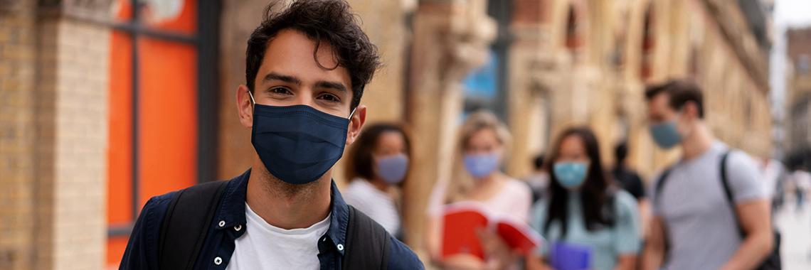 Banner Novo Site International Student Mask